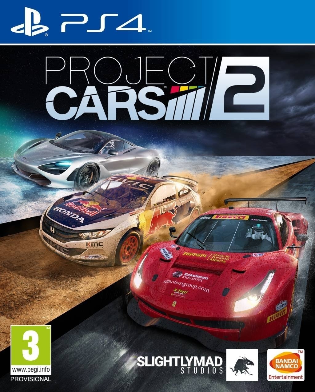 Project Cars 2 PL (PS4)